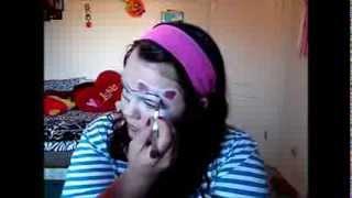 Hello Kitty Makeup tutorial!! Thumbnail