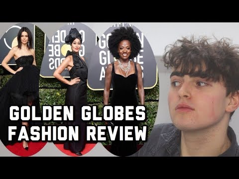 REACTING TO GOLDEN GLOBES 2018 FASHION! (ft. Margot Robbie, Kendall Jenner, Tracee Ellis Ross)