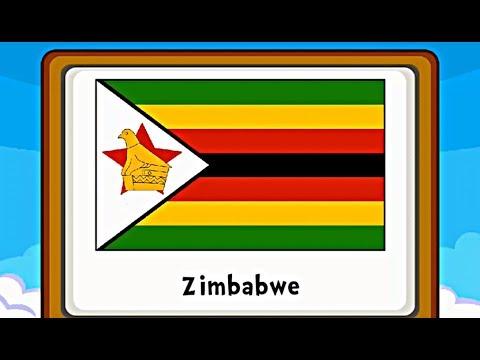 Belajar Bendera Dunia - Belajar Mengenal Bendera di Benua Afrika (Game Edukasi Anak)