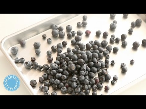 How To Freeze Berries With Martha Stewart