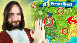 JESUS M'AIDE à FAIRE UN TOP 1 sur FORTNITE Battle Royale !