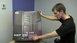 Cooler Master HAF XM Gaming Case Unboxing & First Look Linus Tech Tips