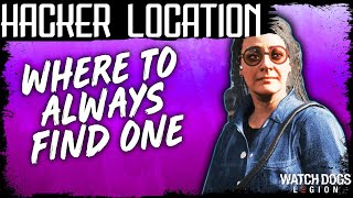 Watch Dogs Legion HACKER LOCATION WHERE TO FIND ONE EVERY TIME - Strategy Guide