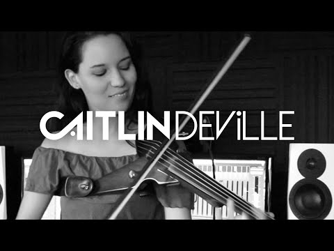 Hey Ma (Pitbull & J Balvin ft Camila Cabello) - Electric Violin Studio Cover | Caitlin De Ville