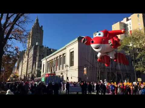 2017 Macy's Thanksgiving Day Parade in NYC