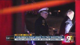 2 adults shot in fight between Mount Airy neighborhood kids