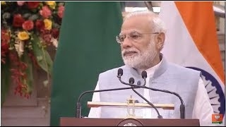 PM Modi LIVE | Modi and President of Zambia Edgar Lungu At A Joint Press Meet | YOYO TV LIVE