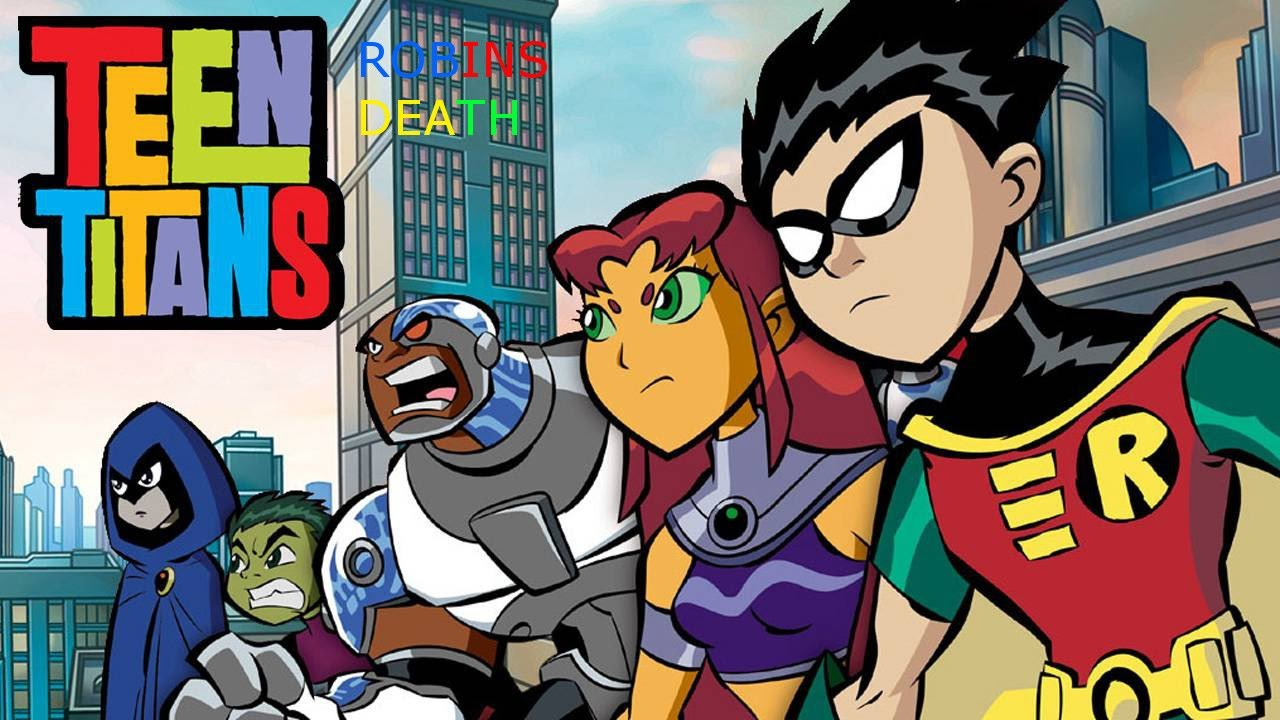 Dbz Iphone X Live Wallpaper Cartoon Creepypasta Teen Titans Robins Death Youtube