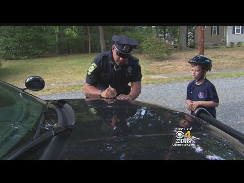 Walpole Police Ticket Children For Good Behavior