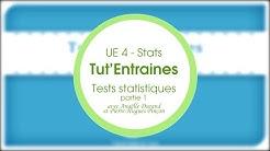 Tut'Entraines: Tests statistiques - 1ère partie