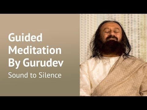 Sound to Silence - Guided Meditation - Sri Sri Ravi Shankar