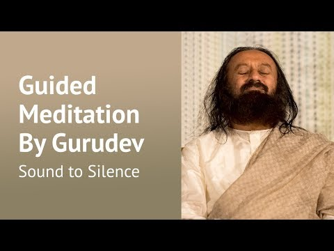 Inner Silence Guided Meditation By Gurudev Sri Sri Ravi Shankar