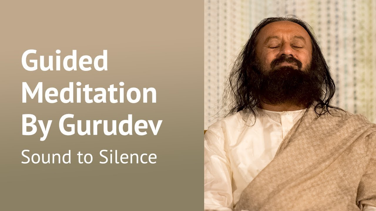 Sound to Silence - Guided Meditation - Sri Sri Ravi ...