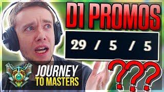 D1 PROMOS FINALLY! BBUUUUUUTTTTTTT.. - Journey To Masters | League of Legends