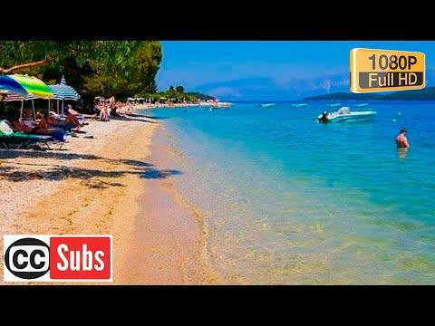 Nidry Beach Gradska Plazalefkada Youtube