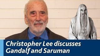 Christopher Lee discusses Gandalf, Saruman and the Lord of the Rings Trilogy