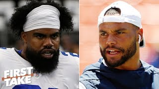 The Cowboys' Super Bowl hopes rest on Dak and Zeke - Max Kellerman | First Take