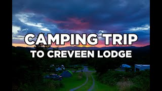 Creveen Lodge Caravan and Camping, County Kerry Ireland, One night Camping Trip Review
