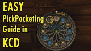 Easy PickPocketing in Kingdom Come Deliverance - xBeau Gaming