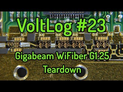 Voltlog #23 - Gigabeam WiFiber Teardown Milimeter Wave Radio
