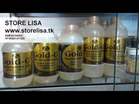 Jual Jelly Gamat Gold G Menyembuhkan Berbagai Penyakit Original Murah Asli Garut 083831471283