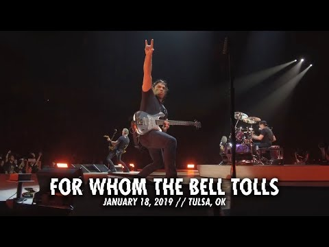 Metallica: For Whom the Bell Tolls (Tulsa, OK - January 18, 2019) mp3