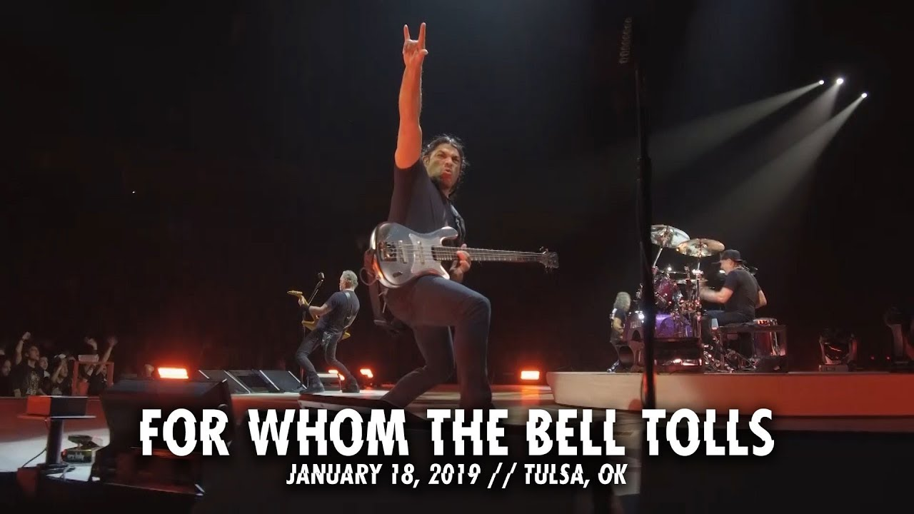 Metallica: For Whom the Bell Tolls (Tulsa, OK — January 18, 2019)