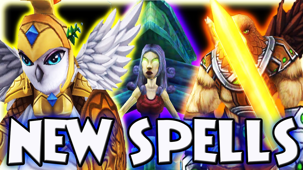 Download : Wizard101: CRAFTING AND USING THE NEW SPELLS