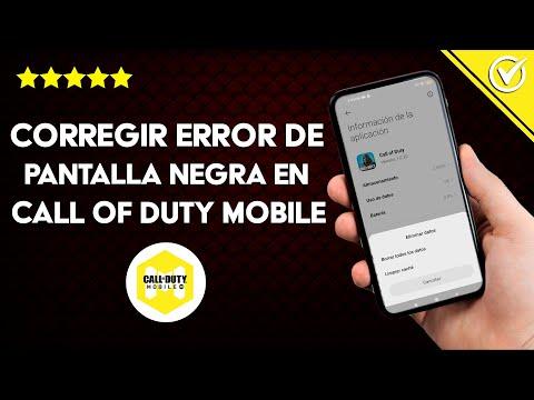Cómo Corregir el Error de Pantalla Negra en Call of Duty Mobile – Solución Definitiva