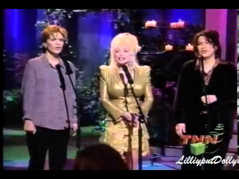 Dolly Parton with Alison Kraus  Suzanne Cox -In The Garden on her Gospel Show