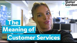 The Meaning of Customer Services
