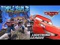 Temple Run 2 Frozen Festival VS Disney Cars Lightning League Endless Racing Gameplay