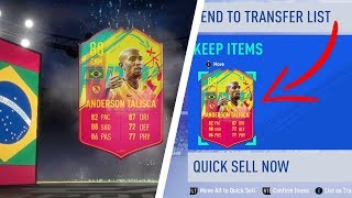 HOW TO COMPLETE WEEKLY CARNIBALL PLAYERS *INSTANTLY*   TALISCA WEEKLY OBJECTIVE GLITCH!! (FIFA 19)
