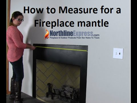 Measuring Your Fireplace For A Mantel Or Surround