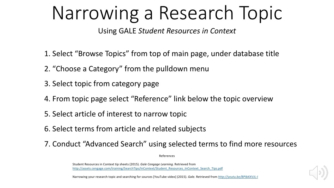 how to find a research topic