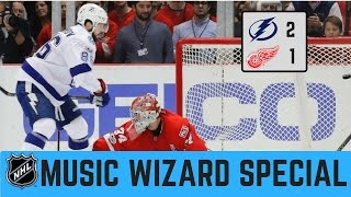 Tampa Bay Lightning vs Detroit Red Wings 2 - 1 OT | NHL Game Recap 3/24/2017
