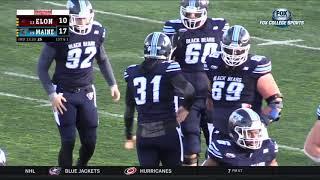Highlights: Maine Football Defeats Elon, 27-26