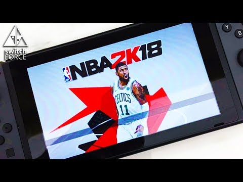 NBA 2K18 Switch File Size Revealed...BIGGEST GAME YET!