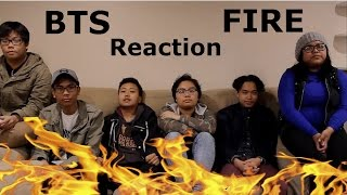 Asians React BTS 불타오르네 FIRE MV