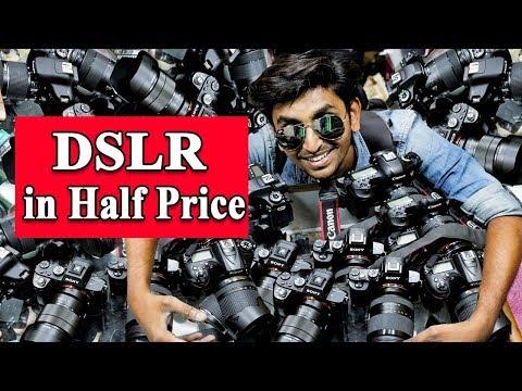 DSLR Camera In Half Price   Bora Bazar   Mumbai   Camera Market
