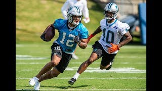 Day One Recap of Panthers Rookie Minicamp