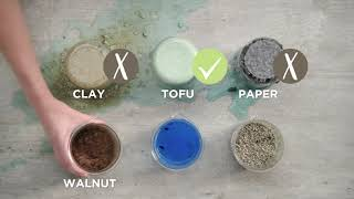 Tofu Cat Litter - Compare Cat Litter Types