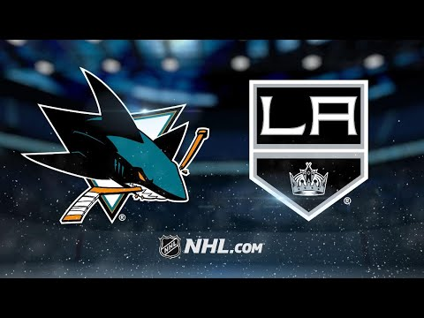 Sharks rally in 3rd period to top Kings, 2-1