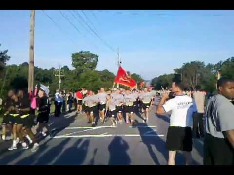 Ft. Bragg:  18th Airborne Corps Army Birthday Run