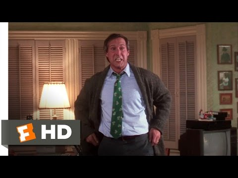 Clark Freaks Out  Christmas Vacation 910 Movie  1989 HD
