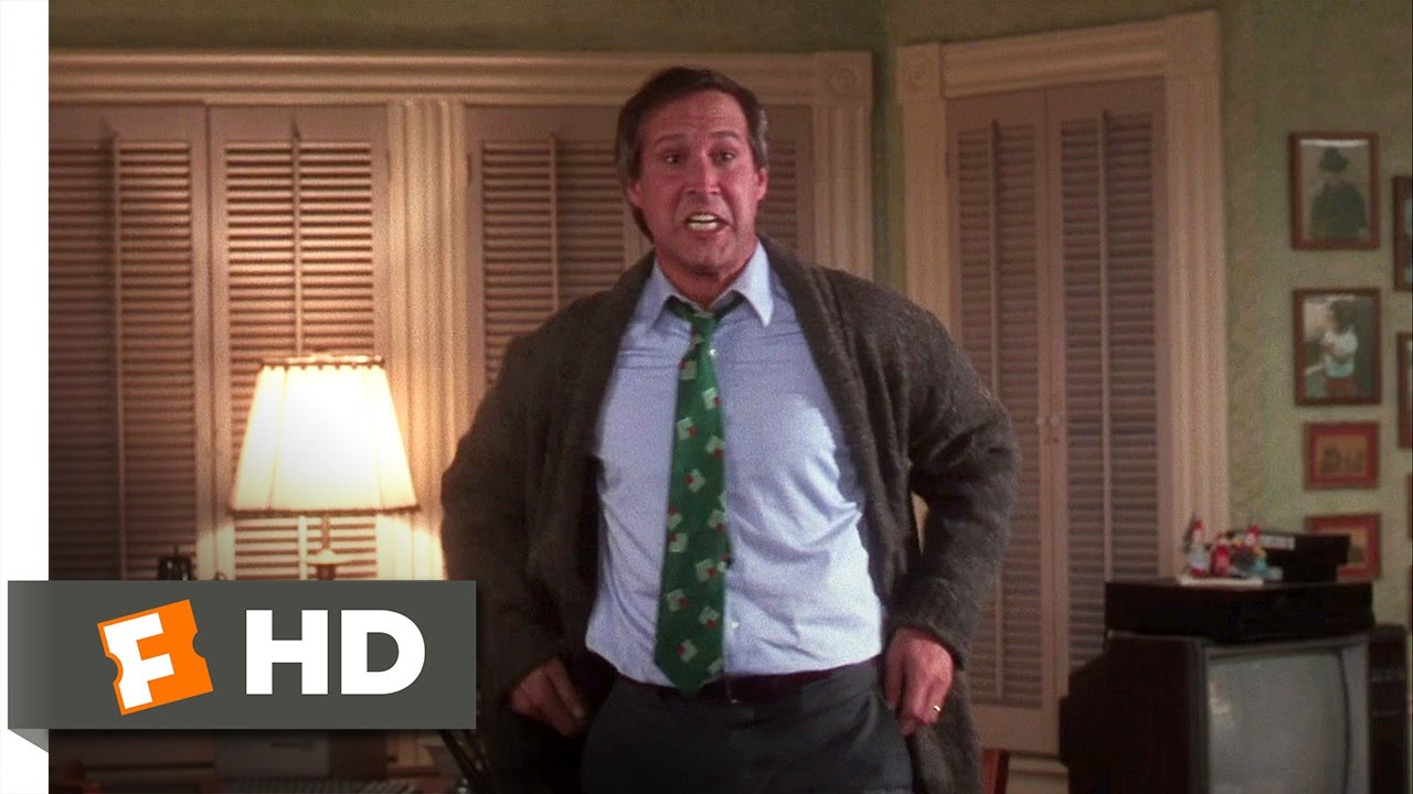 Clark Freaks Out Christmas Vacation 910 Movie Clip 1989 Hd