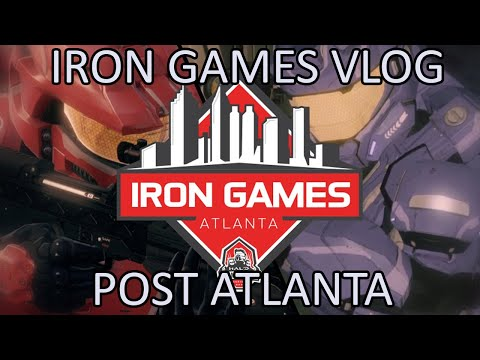 Post Iron games Vlog