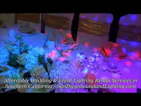 wedding-decorations-blue-&-purple-up-lights,-string-lighting,-cake-light,-dj-lights,-stage-lighting