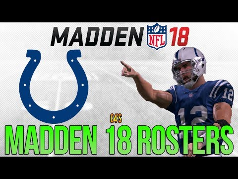 INDIANAPOLIS COLTS Madden 18 Ratings | c4