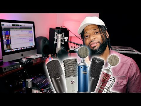 Best Vocal Microphones 2018 | Top 5 Budget Microphones Under $300 (2018)